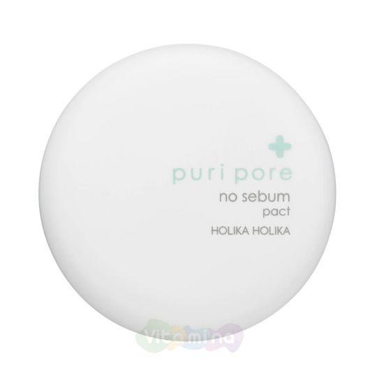 Holika Holika Рассыпчатая пудра для лица матирующая Puri Pore No Sebum Powder