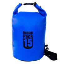 Водонепроницаемая сумка-мешок Ocean Pack, 15 L, синий