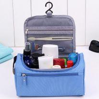 Косметичка-органайзер для хранения гигиенических предметов, голубой