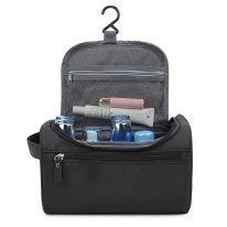 Косметичка-органайзер для хранения гигиенических предметов, чёрный