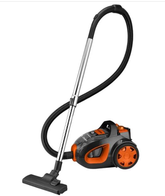 Пылесос DELTA DL-0837 Оранжевый/черный