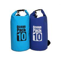 Водонепроницаемая сумка-мешок Ocean Pack, 10 L, голубой