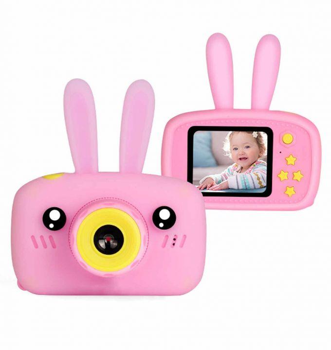 Детский фотоаппарат Fun Camera Rabbit (Розовый)