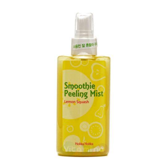Holika Holika Отшелушивающий мист-скатка с лимоном Smoothie Peeling Mist Lemon Squash, 150 мл