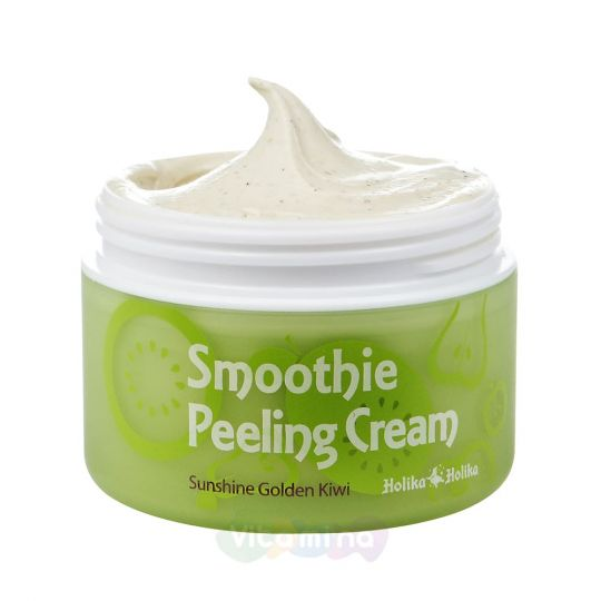 Holika Holika Отшелушивающий крем с киви Smoothie Peeling Cream Sunshine Golden Kiwi, 75 мл