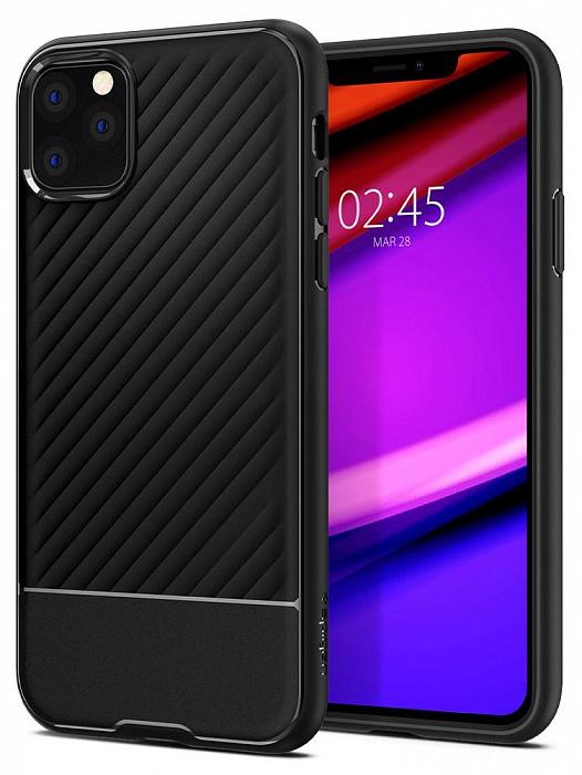 Чехол Spigen Core Armor для iPhone 11 Pro Max черный