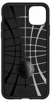 Купить оригинальный чехол Spigen Core Armor для iPhone 11 Pro Max черный тонкий чехол для Айфон 11 Про Макс в Москве в интернет магазине аксессуаров для смартфонов elite-case.ru