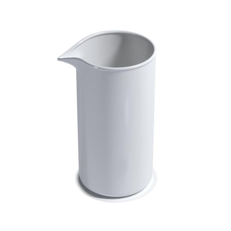 Фарфоровый химический стакан №5, 75/120мм ( 400мл)