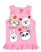 Майка для девочек 3-7 лет Bonito BK1320M розовая