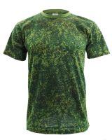 """Футболка камуфляж мужская """"Pixel"""" Браво зеленая"""