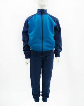 """Спортивный костюм для мальчика  Baby Style """"Classic"""" лазурный"""
