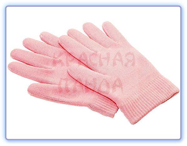 Увлажняющие силиконовые гелевые SPA перчатки с пропиткой