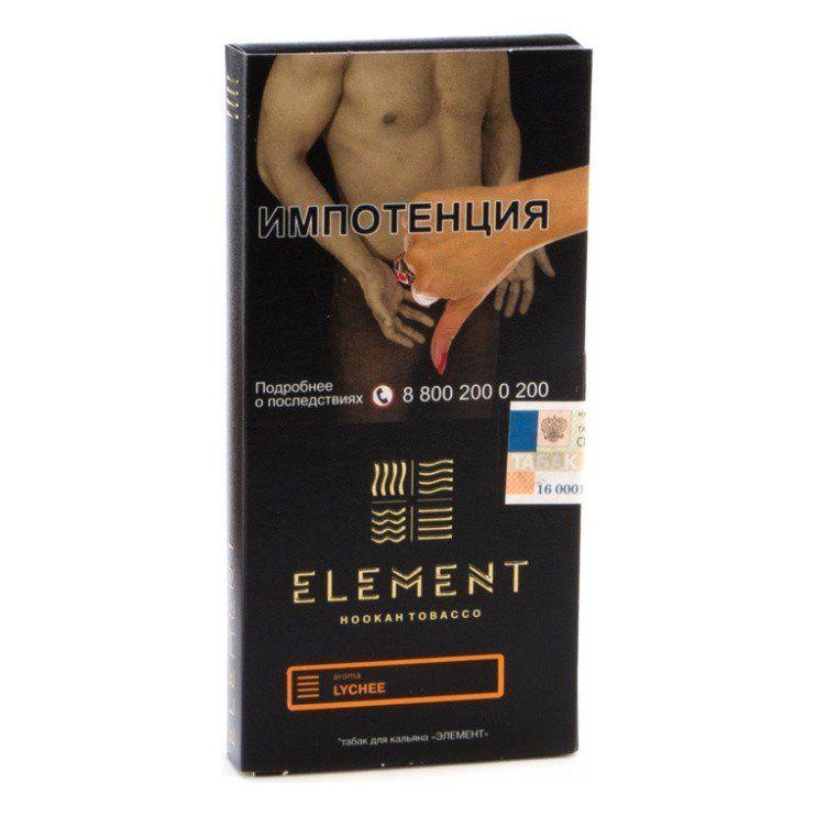 Табак Element Земля - Lychee (Личи, 100 грамм)