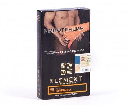 Табак Element Земля - Margarita (Маргарита, 40 грамм)