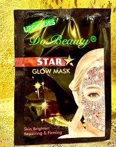 МЕРЦАЮЩАЯ Маска для лица Do Beauty Star Glow Mask Oil Control розовая ,18 гр