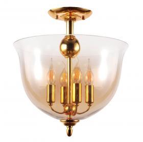 Потолочный светильник Crystal Lux Atlas PL4 Gold