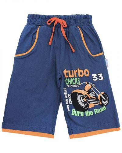 "Шорты для мальчика 3-7 лет BONITO ""Turbo"" индиго"