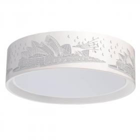 Потолочный светодиодный светильник De Markt Ривз 674016001