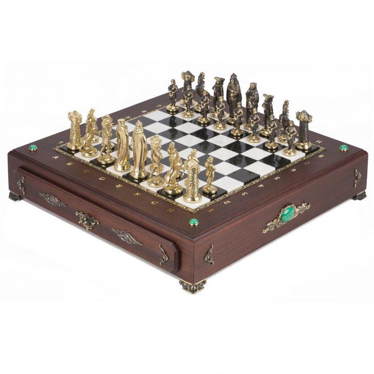 Шахматный ларец Средневековье 42 х 42 х 9 см