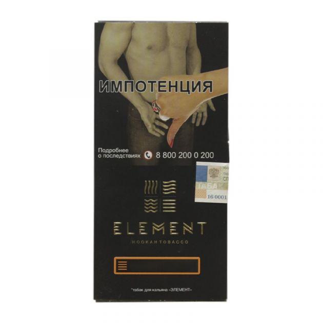 Табак Element Земля - Thyme and Bergamot (Чабрец и Бергамот, 40 грамм)