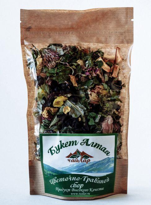 «Букет Алтая» (цветочно-травяной сбор)