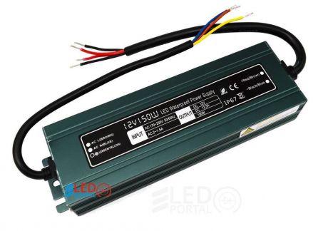 Блок питания ALSL-150-12 150W IP67 12V SLIM влагозащищенный IP67 Leds Power