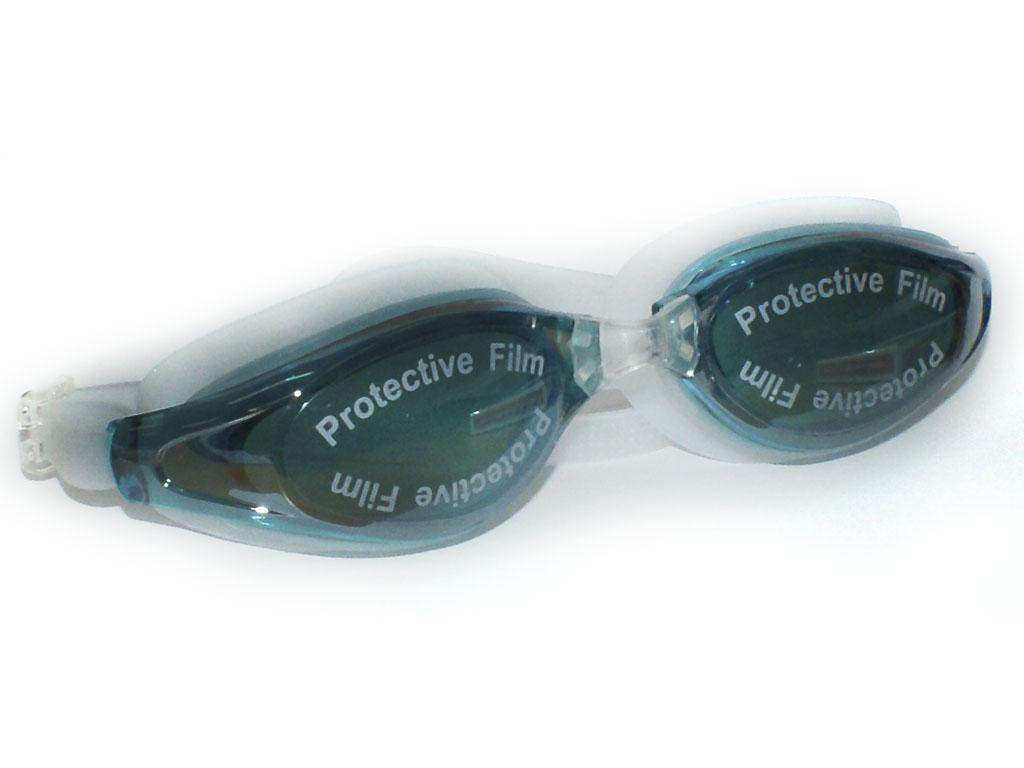 Очки для плавания, с антифогом, материал силикон, мягкая упаковка, артикул 26160