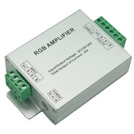 Усилитель питания для RGB лент 216/432W 12/24V AMP216ESB Ecola
