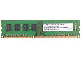 Модуль памяти Apacer GB DDR3-1600 DIMM DL.08G2K.KAM Non-ECC, CL11, 1.5V, AU08GFA60CATBGC, 2R, 512x8, RTL