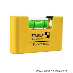 Уровень пузырьковый STABILA Pocket Basic длина 6,7 см арт.17773