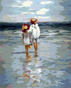 Картина по номерам «Летние каникулы» 40x50 см