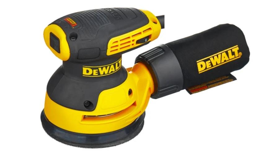 Эксцентриковая шлифмашина DEWALT DWE6423-QS