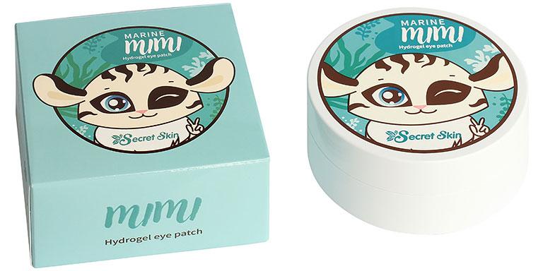 Гидрогелевые патчи для глаз с экстрактом морских водорослей Secret Skin Marine Mimi Hydrogel Eye Patch