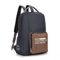 Складной туристический рюкзак New Folding Travel Bag Backpack 20, тёмно-серый