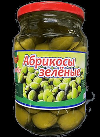 Абрикосы зеленые маринованные(гураоба), 720г