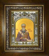 Икона Григорий Двоеслов папа Римский (14х18)