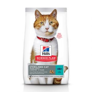 Hill's Feline SP Young Adult Sterilised Tuna