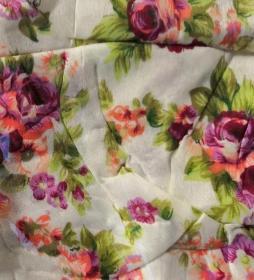 Чехол для гладильной доски, 140х50 см, зелёный, мелкие цветы
