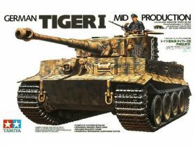 1/35 Немецкий Тяжёлый танк Tiger I (Mid.prod)