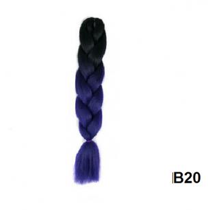Канекалон №B020 (60 см) -  100 гр.