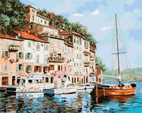 Картина по номерам «Манящая Италия» 40x50 см