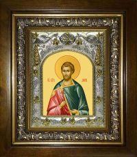 Икона Дион Римский мученик (14х18)