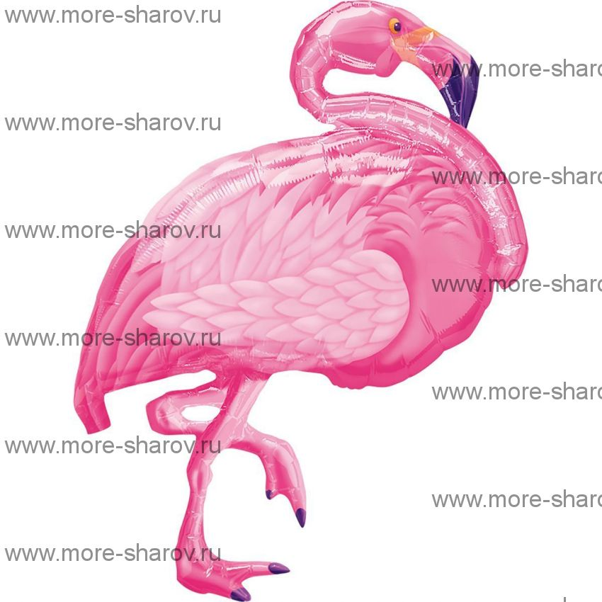 Шар Фламинго 69х89 см