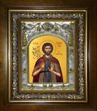 Икона Евфросин Палестинский  преподобный,(14х18)