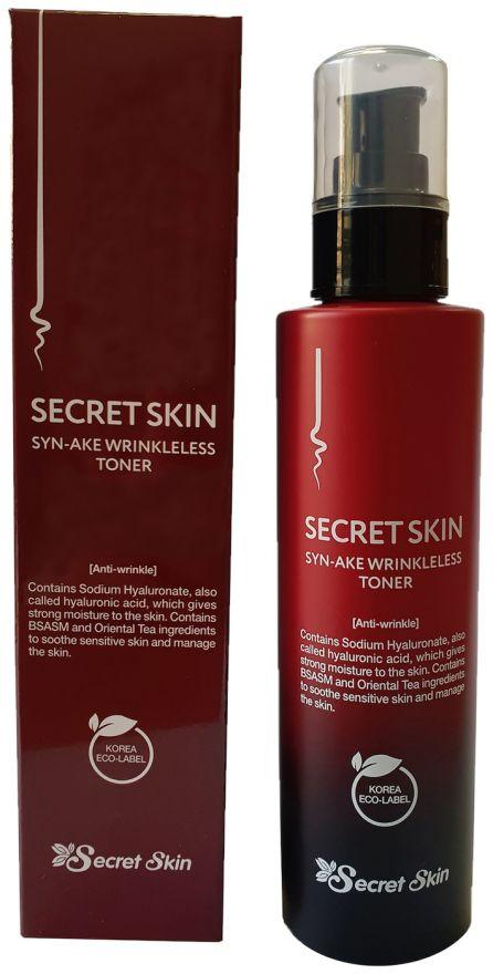 Тонер для лица антивозрастной Secret Skin Syn-Ake Wrinkleless Toner