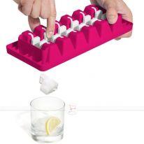 Форма для льда ICE TRAY, 31х13х3,5 см, розовый