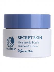 Крем для лица Secret Skin Hyaluronic Bomb Diamond Cream