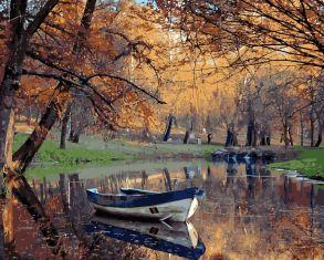 Картина по номерам «Осенний парк» 40x50 см