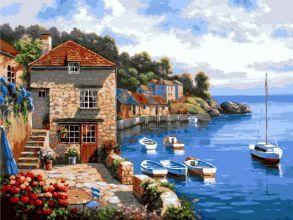 Картина по номерам «Средиземноморье» 40x50 см