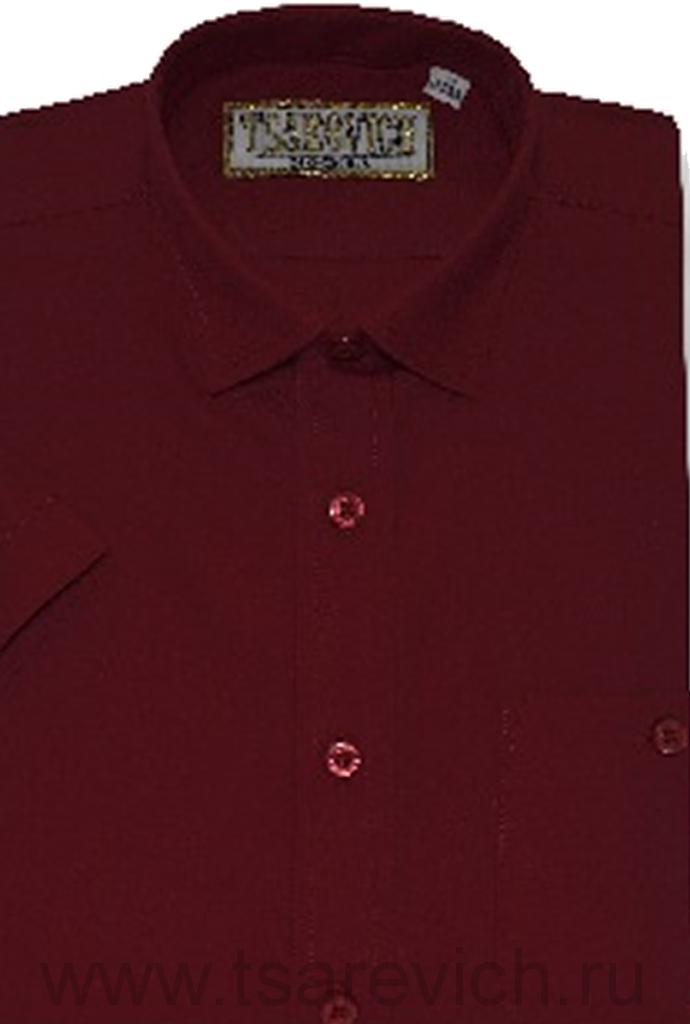 """Детская рубашка школьная,    """"ЦАРЕВИЧ"""", оптом 10 шт., артикул: DF222-к"""